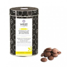 Milk Chocolate Drops Galaxie 41 % 400g